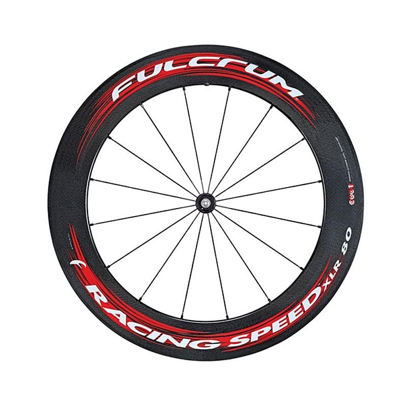 FULCRUM(フルクラム) RACING SPEED XLR 80 (レーシングスピードXLR 80)前後セットホイール(F+R)チューブラーバッグ付[前・後セット][チューブラー用]
