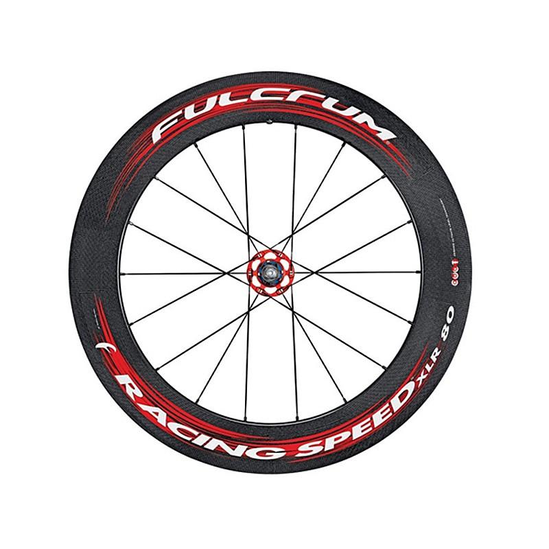 FULCRUM(フルクラム) RACING SPEED XLR 80 (レーシングスピードXLR 80) リア チューブラーパッド付[後][チューブラー用]