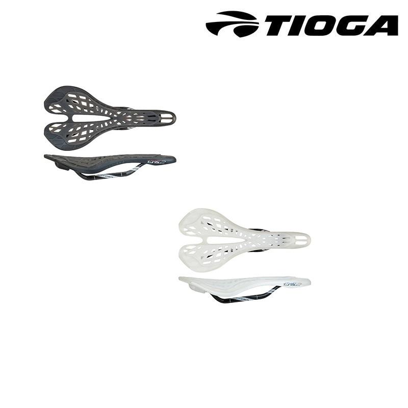 TIOGA(タイオガ) SPYDER TWIN TAIL 2 CARBON RAIL (スパイダーツインテール2カーボンレール)[レーシング][サドル・シートポスト]