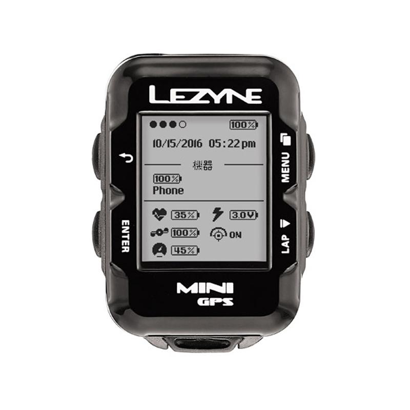 LEZYNE(レザイン) MINI GPS (ミニGPS)[マップ/ナビ付き][GPS/ナビ/マップ]