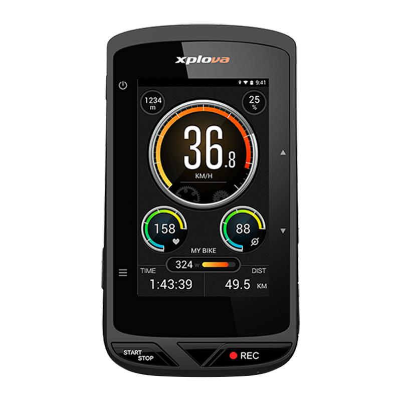 Xplova(エクスプローバ) X5 EVO (X5エボ)カメラ付GPSサイクルコンピューター[GPSログ][GPS/ナビ/マップ]