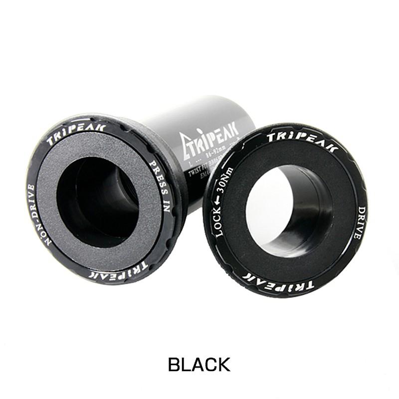 TRiPEAK(トライピーク) ボトムブラケット BB86/92 24mm(SHIMANO HTII) スチールツイストフィット EMA-PB86-SHSBTF12[本体][ボトムブラケットBB]