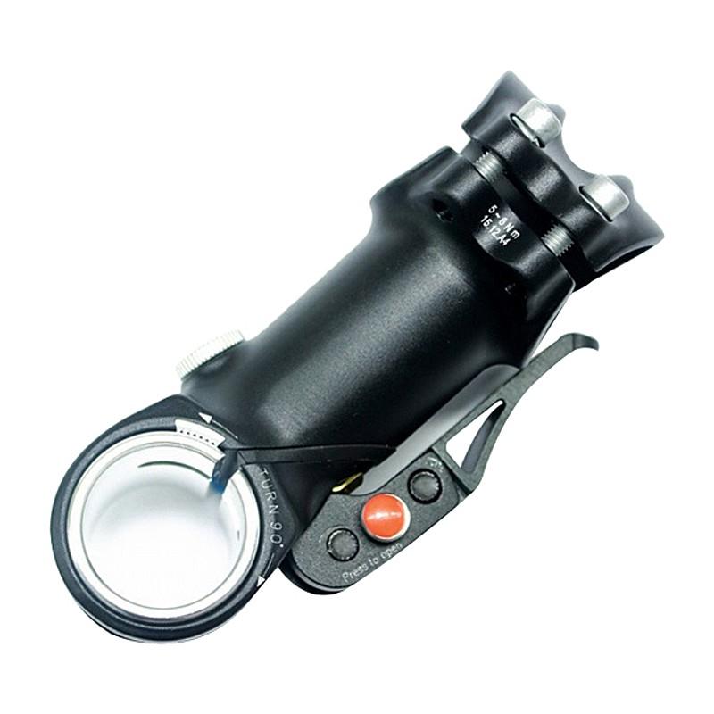 SATORI(サトリ) ET2 AHS ハンドル回転機能付きステム[25.4mm][ロード用]