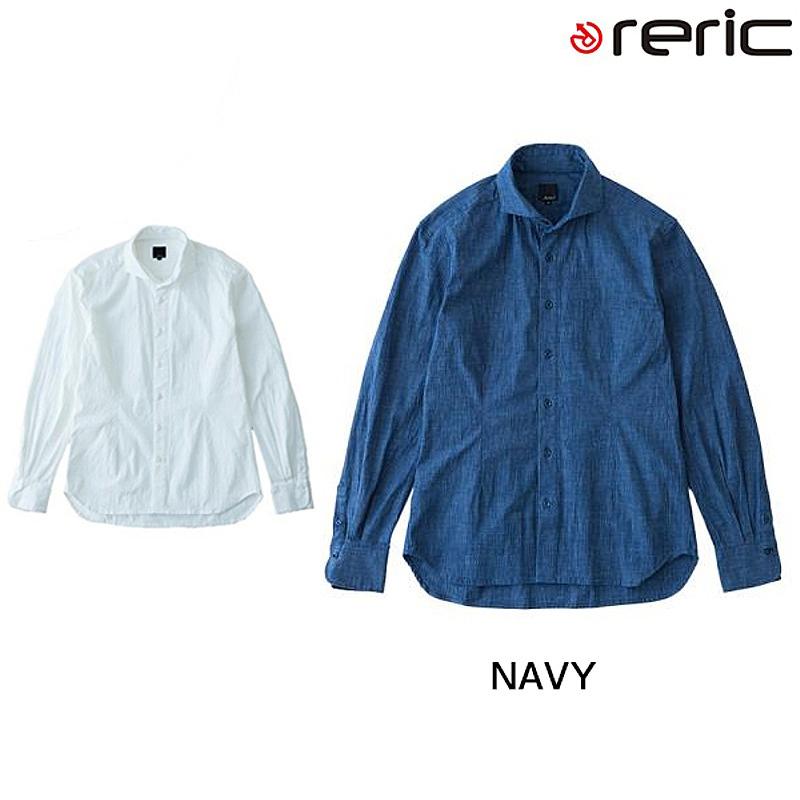reric(レリック) 2015年モデル シャンブレーシャツ【春夏モデル】 4090404[長袖(春夏)][ジャージ・トップス]