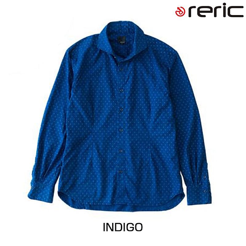 reric(レリック) 2015年モデル インディゴシャツ【春夏モデル】 4090405[長袖(春夏)][ジャージ・トップス]