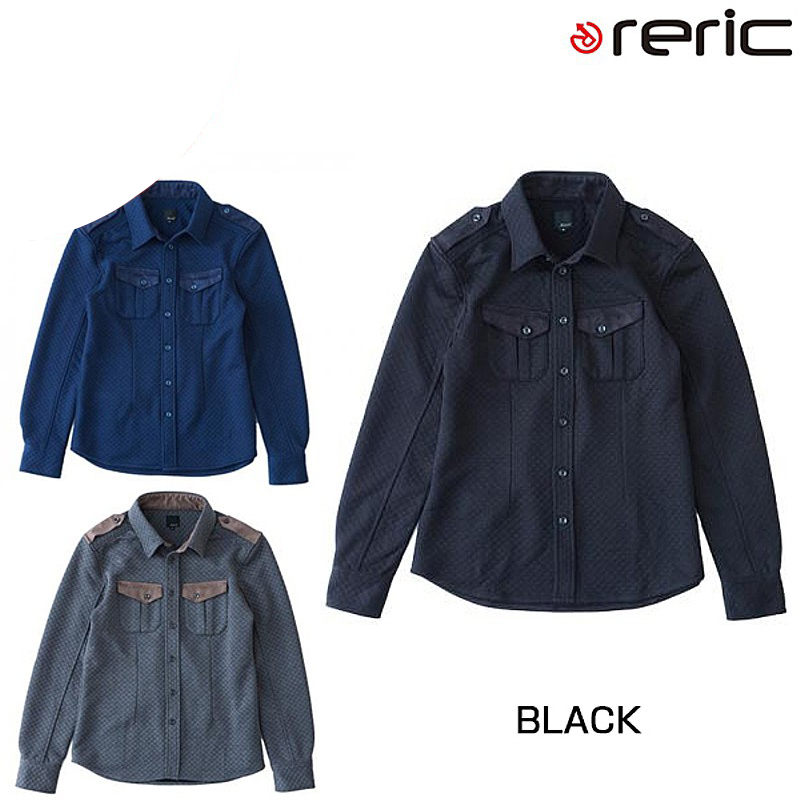 reric(レリック) 2015年モデル キルトシャツ【秋冬モデル】 4090701[長袖(秋冬)][ジャージ・トップス]