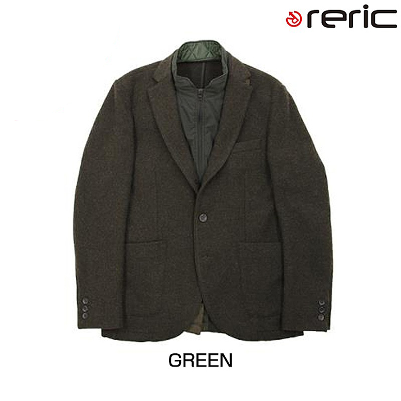 reric(レリック) 2015年モデル ライナー付2WAYジャケット【秋冬モデル】 4090703[長袖(秋冬)][ジャージ・トップス]
