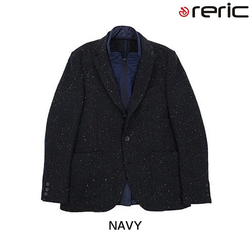 reric(レリック) 2015年モデル ライナー付きツイードジャケット【秋冬モデル】 4090704[長袖(秋冬)][ジャージ・トップス]