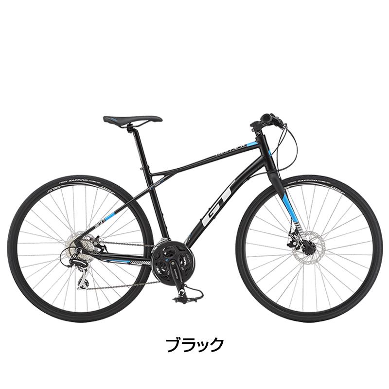 GT(ジーティー) 2019年モデル TRAFFIC X (トラフィックX)[ディスクブレーキ仕様][クロスバイク]