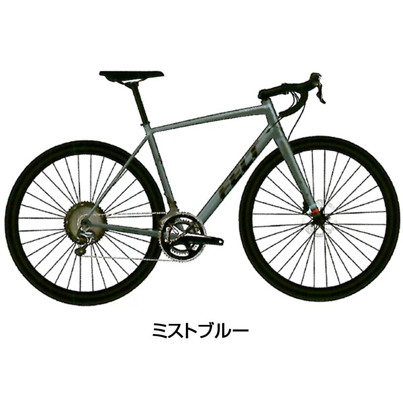 【ボトルプレゼント】FELT(フェルト) 2019年モデル BROAM40 (ブローム40)[アルミフレーム][ロードバイク・ロードレーサー]