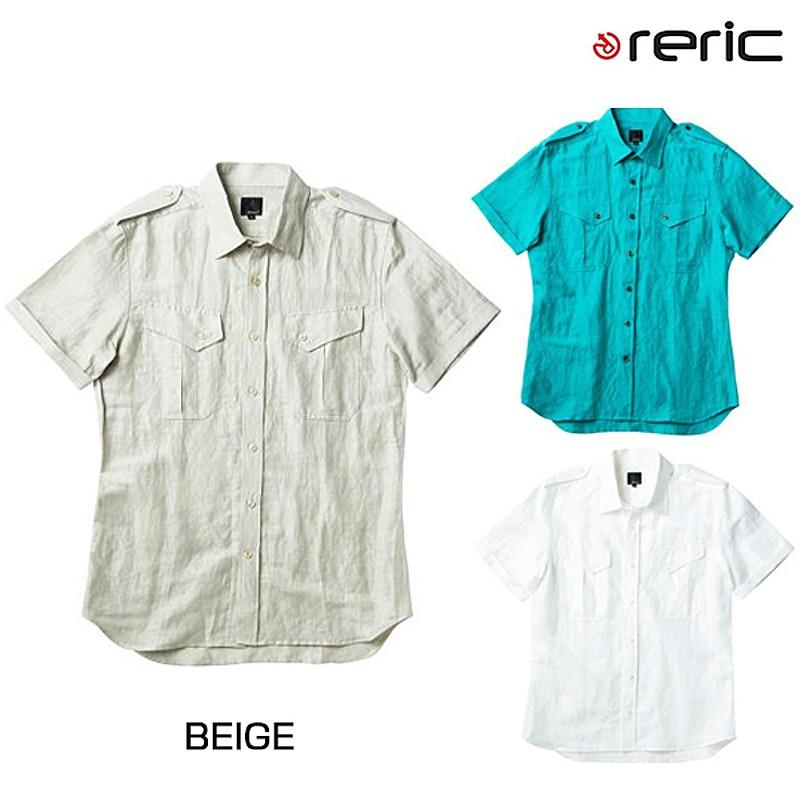 reric(レリック) 2016年春夏モデル サファリシャツ 4100501[半袖][ジャージ・トップス]