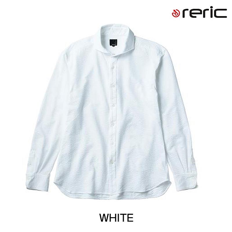 reric(レリック) 2016年春夏モデル シアサッカーシャツ 4100602[長袖(春夏)][ジャージ・トップス]