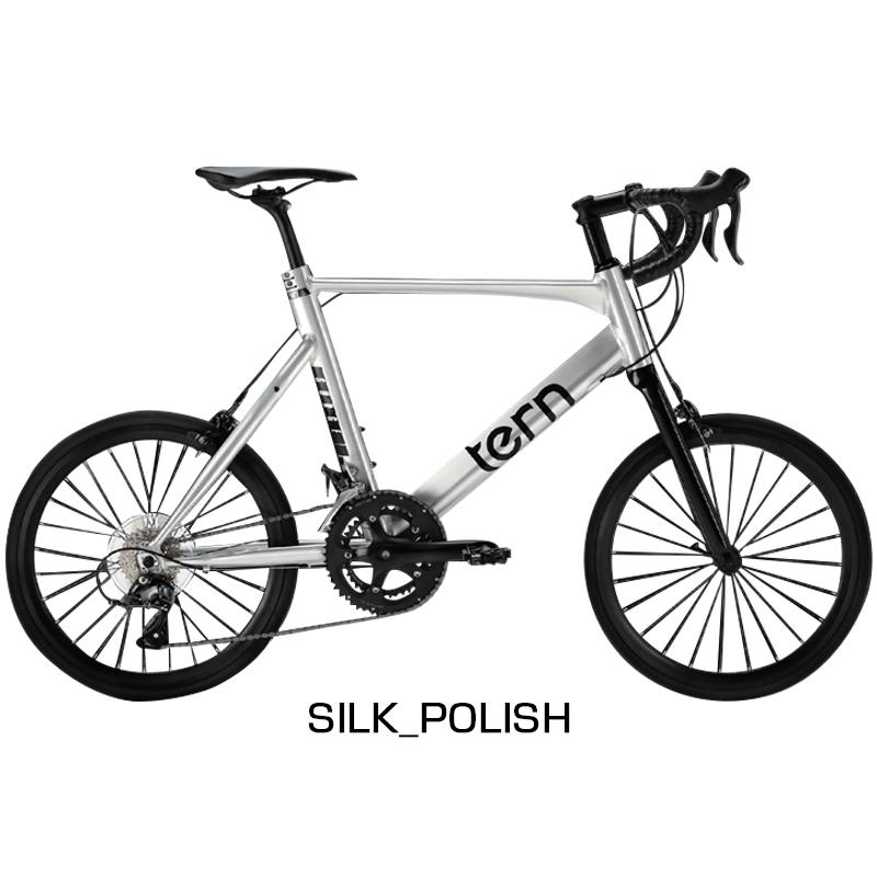TERN(ターン) 2019年モデル SURGE (サージュ)SILK POLISH[スポーティー][ミニベロ/折りたたみ自転車]