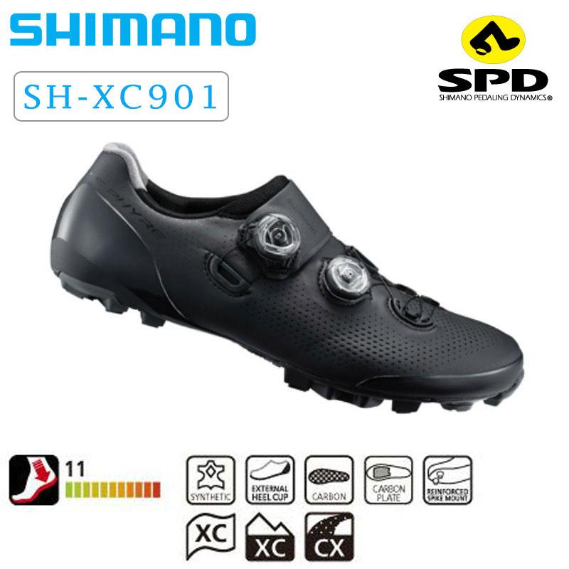 《即納》SHIMANO S-PHYRE(シマノエスファイア) 2019年モデル XC9 (SH-XC901)[クリップレス][マウンテンバイク用]