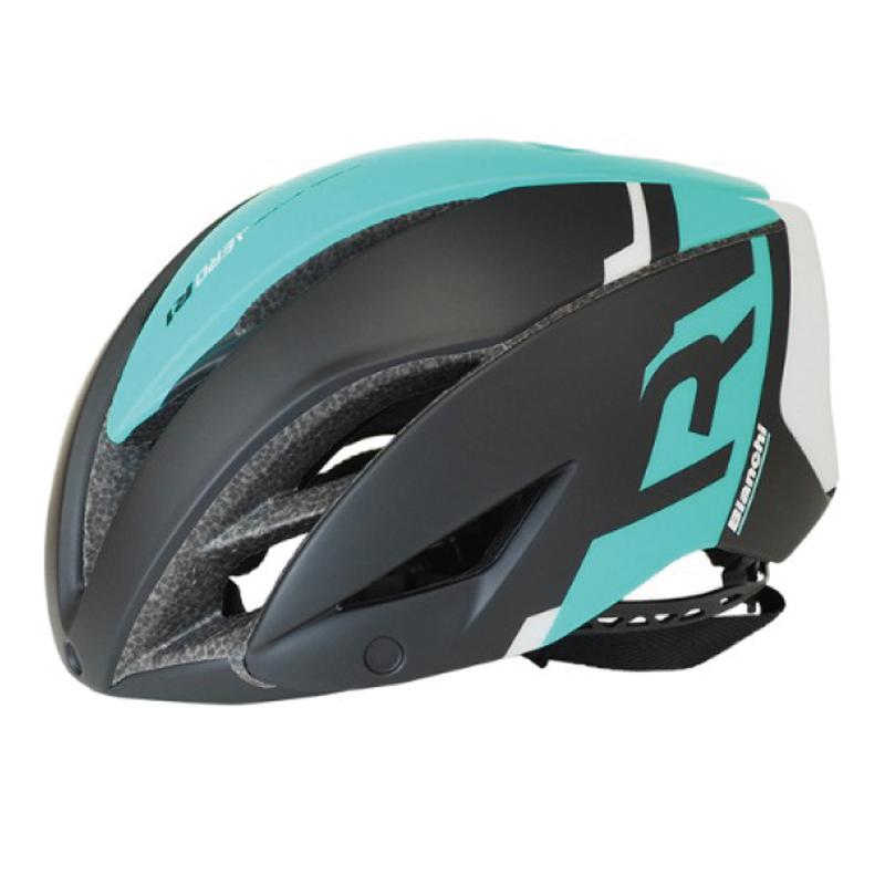 Bianchi(ビアンキ) ヘルメット エアロR1 (JPA0212002BK-)[JCF公認][バイザー無し]