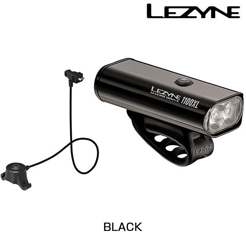 LEZYNE(レザイン) MACRO DRIVE 1100 REMOTE LODED (マクロドライブ1100リモートロド)USB充電式フロントライト 1100ルーメン[USB充電式][ヘッドライト]