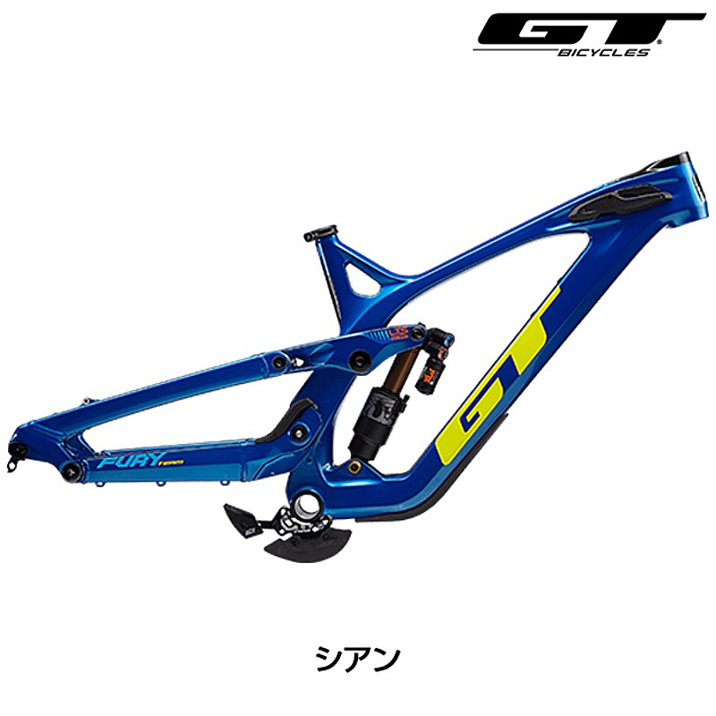 GT(ジーティー) 2019年モデル FRAME FURY (フレームフューリー) フレームセット[MTB][フレーム・フォーク]