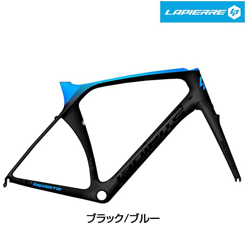 LAPIERRE(ラピエール) 2019年モデル AIRCODE SL ULTIMATE FRAME SET (エアーコードSLアルチメイトフレームセット)ブラック/ブルー[ロードバイク][フレーム・フォーク]