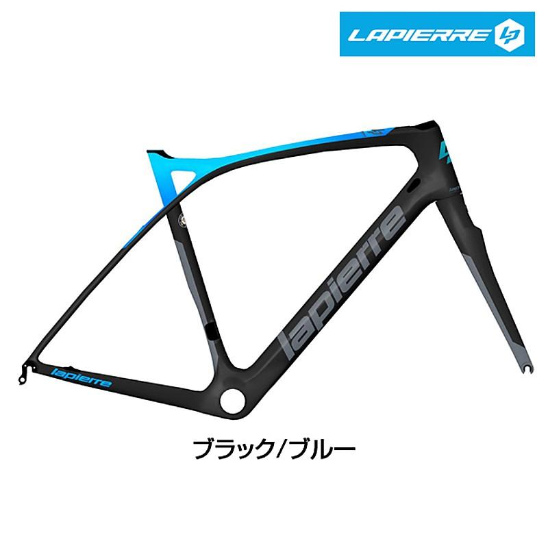 LAPIERRE(ラピエール) 2019年モデル XELIUS SL ULTIMATE FRAME SET (ゼリウスSLアルチメイトフレームセット)ブラック/ブルー[ロードバイク][フレーム・フォーク]