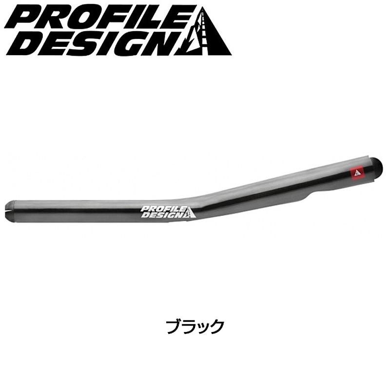 PROFILE DESIGN(プロファイルデザイン) T5+カーボンブラックエクステンションバーのみ(2016)[クリップオンバー][エアロハンドルバー]