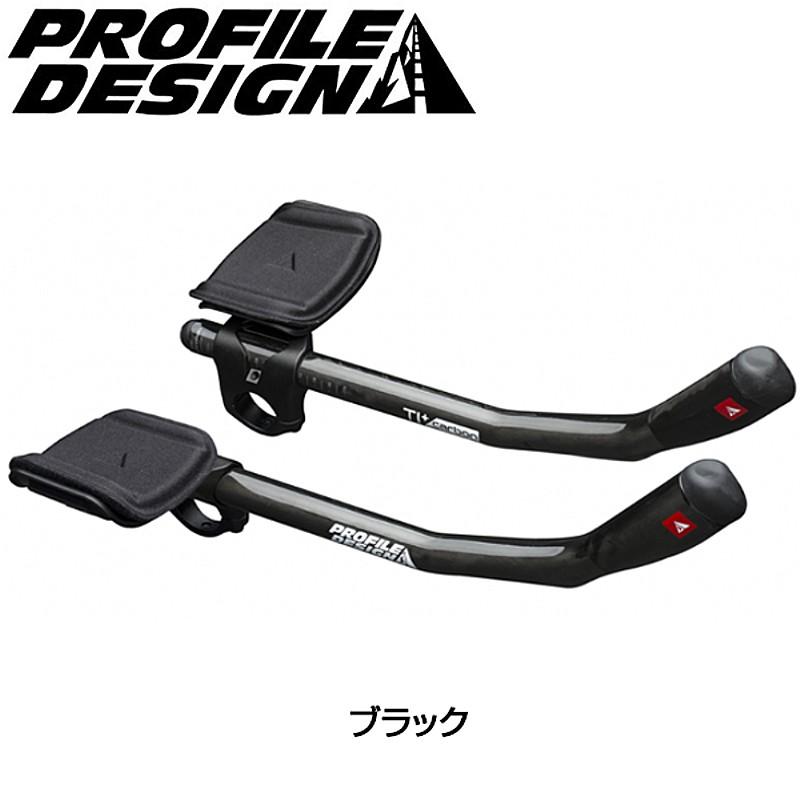 PROFILE DESIGN(プロファイルデザイン) T1+ カーボンブラック クランプ径:31.8mm(2017)[クリップオンバー][エアロハンドルバー]