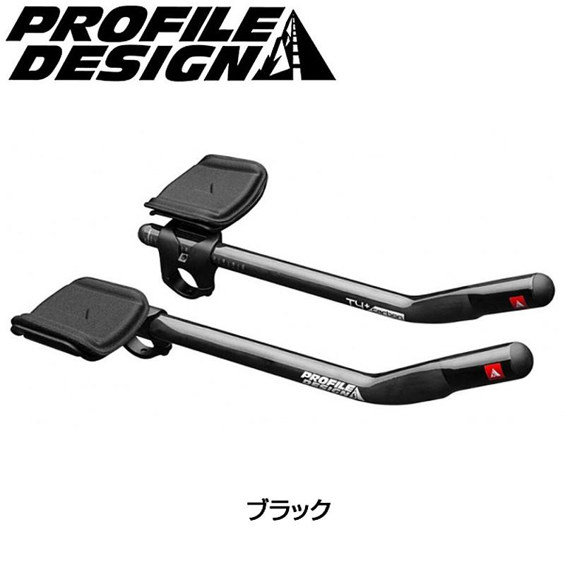 PROFILE DESIGN(プロファイルデザイン) T4+ カーボンブラック クランプ径:31.8mm(2017)[クリップオンバー][エアロハンドルバー]
