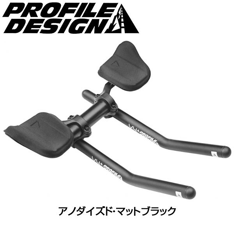 PROFILE DESIGN(プロファイルデザイン) V4+アルミ クランプ径:31.8mm[クリップオンバー][エアロハンドルバー]