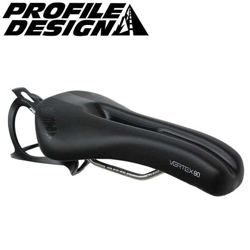 PROFILE DESIGN(プロファイルデザイン) VERTEX 80サドル TITAN (穴あき) [サドル] [TT] [トライアスロン]