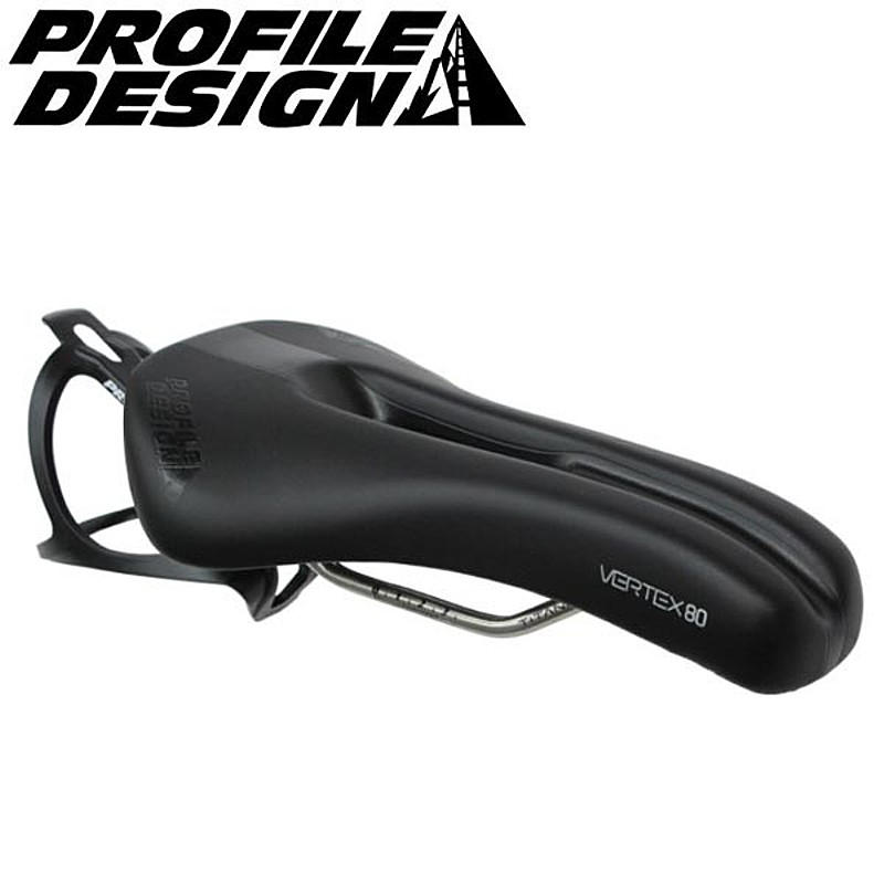 PROFILE DESIGN(プロファイルデザイン) VERTEX 80サドル TITAN (穴あき)[TT・トライアスロン][サドル・シートポスト]