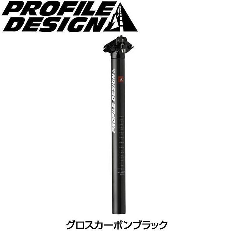 PROFILE DESIGN(プロファイルデザイン) CANTA ZERO カーボンシートポストオフセット: 0mm[トライアスロン用][サドル・シートポスト]
