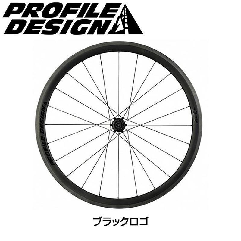 PROFILE DESIGN(プロファイルデザイン) 38 TWENTYFOUR フルカーボンチューブラー リアのみ[後][チューブラー用]
