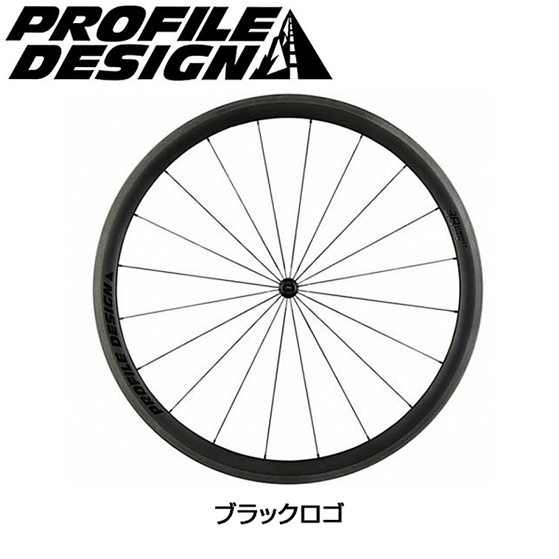 PROFILE DESIGN(プロファイルデザイン) 38 TWENTYFOUR フルカーボンチューブラー フロントのみ[前][チューブラー用]
