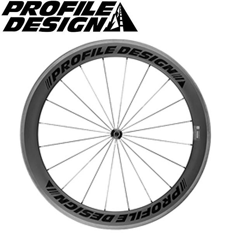 PROFILE DESIGN(プロファイルデザイン) 2.5G 58 TWENTYFOUR カーボンクリンチャーV2 Fノミ[前][チューブレス非対応]