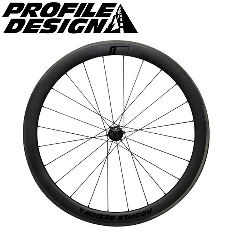 PROFILE DESIGN(プロファイルデザイン) 1/FIFTY フルカーボンクリンチャー前後セット [ホイール] [ロードバイク] [エアロ] [ディープリム]