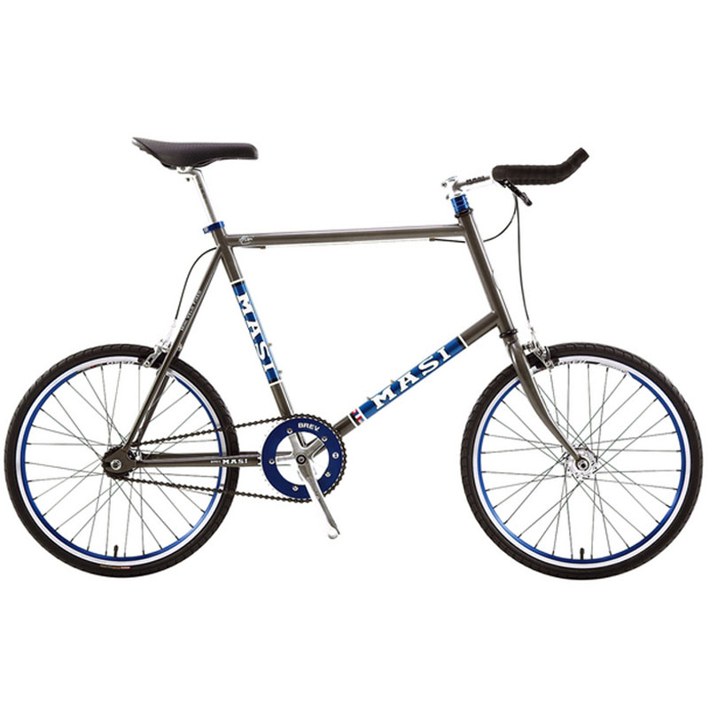 MASI(マジー/マジィ) MINI VELO FIXED (ミニベロフィクスド) 限定Cielo Blueカラー[スポーティー][ミニベロ/折りたたみ自転車]