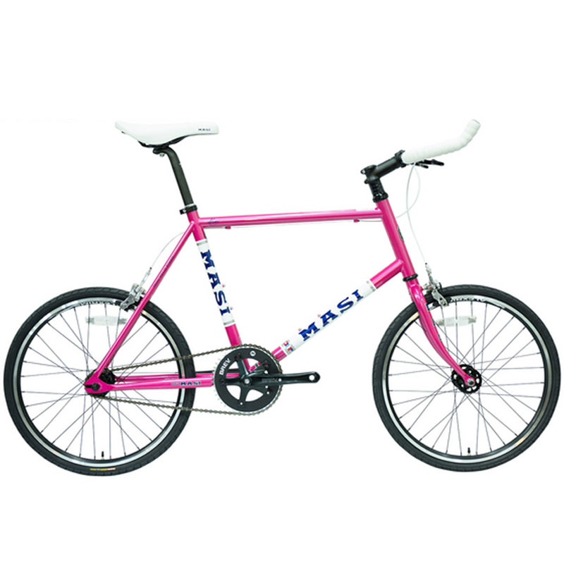 MASI(マジー/マジィ) 2020年モデル MINI VELO FIXED (ミニベロフィクスド) 限定Rosa Pinkカラー[ミニベロ/折りたたみ自転車]