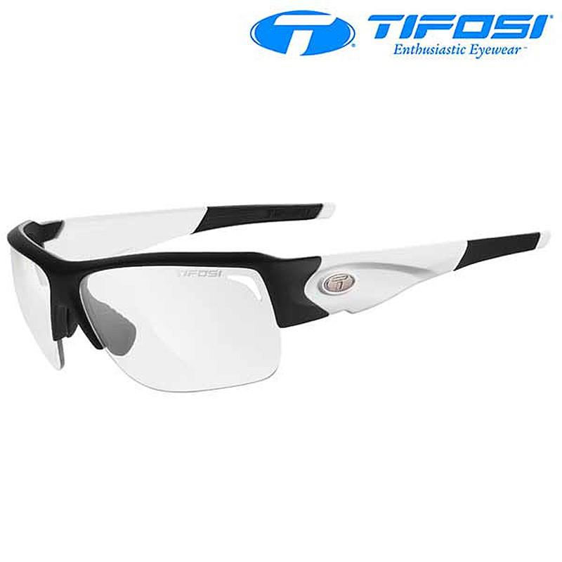 Tifosi Optics(ティフォージ・オプティクス) ELDER SL FOTOTEC (エルダーSLフォトテック) フレーム:ブラック/ホワイト[調光レンズ][サングラス]