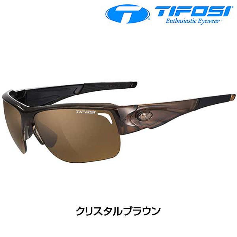 Tifosi Optics(ティフォージ・オプティクス) ELDER SL (エルダーSL) フレーム:クリスタルブラウン[偏光レンズ][サングラス]
