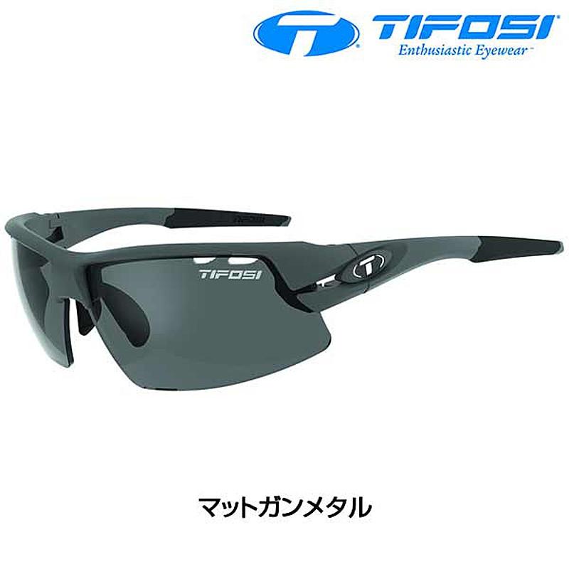 Tifosi Optics(ティフォージ・オプティクス) CRIT POLARIZED FOTOTEC (クリットポラライズドフォトテック) マットガンメタル [サングラス] [ロードバイク] [偏光] [アイウェア]