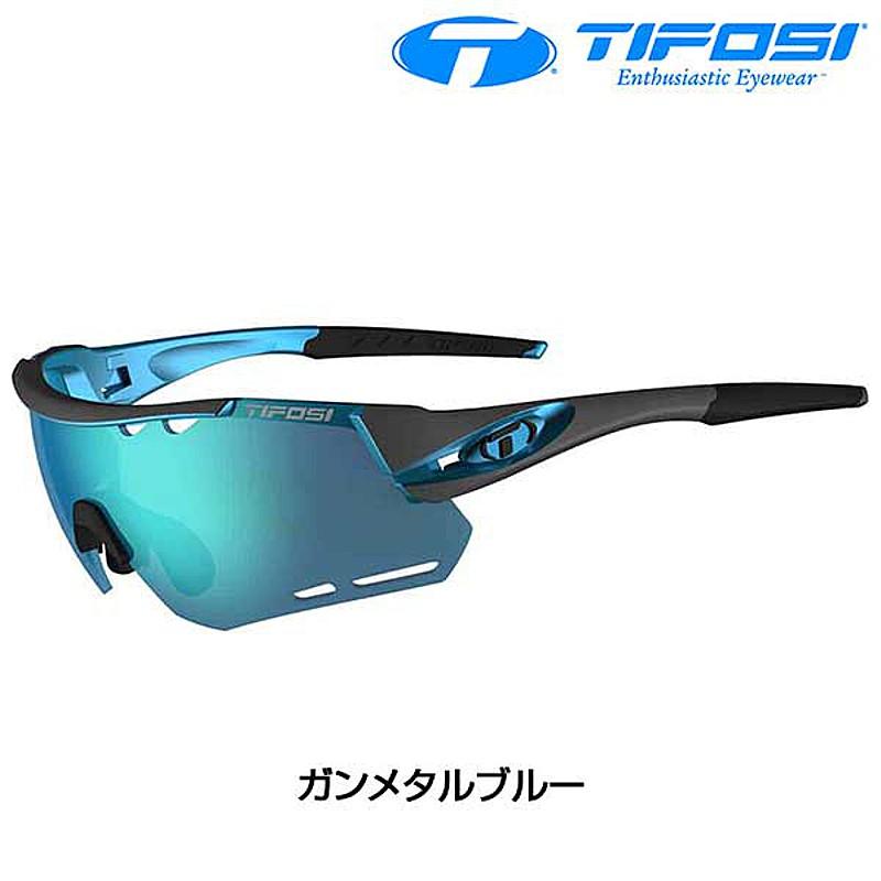 Tifosi Optics(ティフォージ・オプティクス) ALLIANT (アライアント) クラリオン/ミラーレンズ フレーム:ガンメタルブルー[ノーマルレンズ][サングラス]