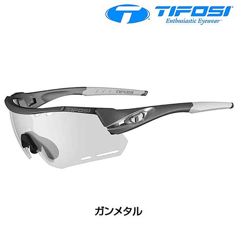 Tifosi Optics(ティフォージ・オプティクス) ALLIANT (アライアント) フォトテックレンズ フレーム:ガンメタル [サングラス] [ロードバイク] [アイウェア]