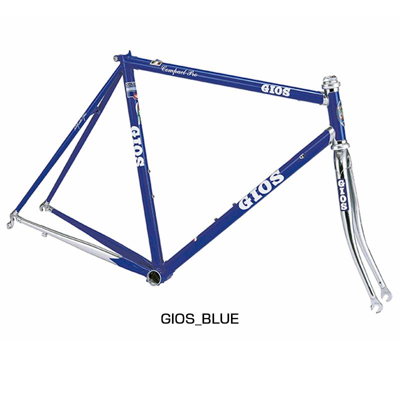 GIOS(ジオス) 2019年モデル COMPACT PRO FRAMESET (コンパクトプロフレームセット)[ロードバイク][フレーム・フォーク]