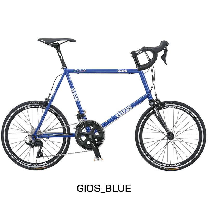 GIOS(ジオス) 2019年モデル PANTO105 (パント105)[スポーティー][ミニベロ/折りたたみ自転車]