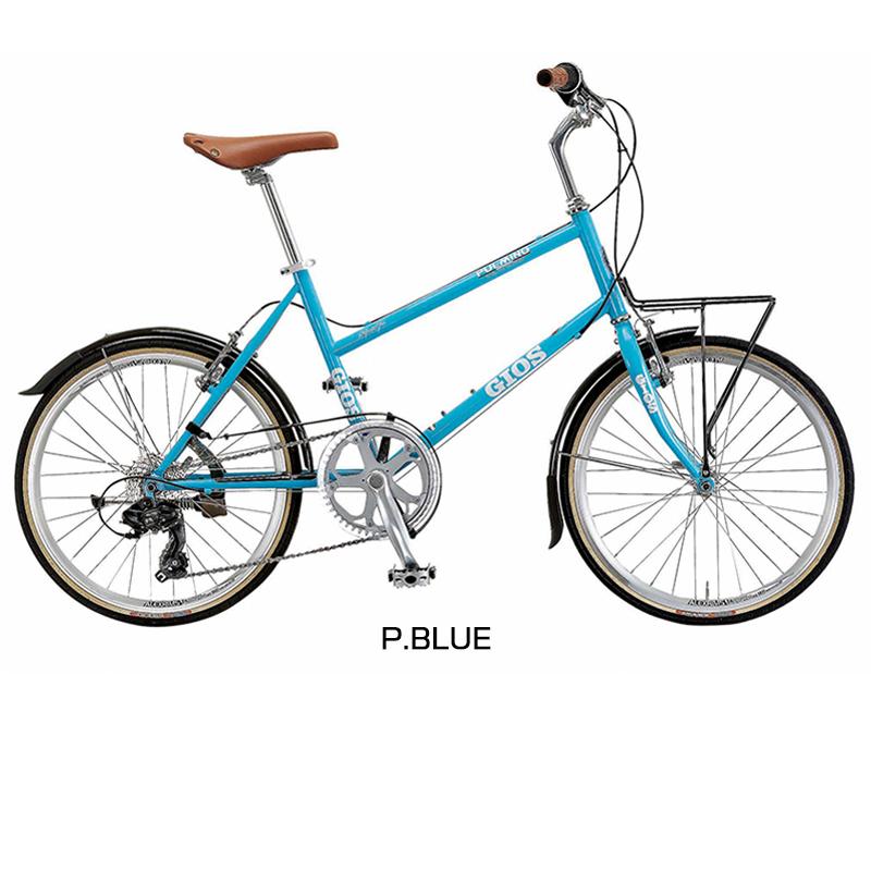 《在庫あり》GIOS(ジオス) 2019年モデル PULMINO (プルミーノ)[コンフォート][ミニベロ/折りたたみ自転車]