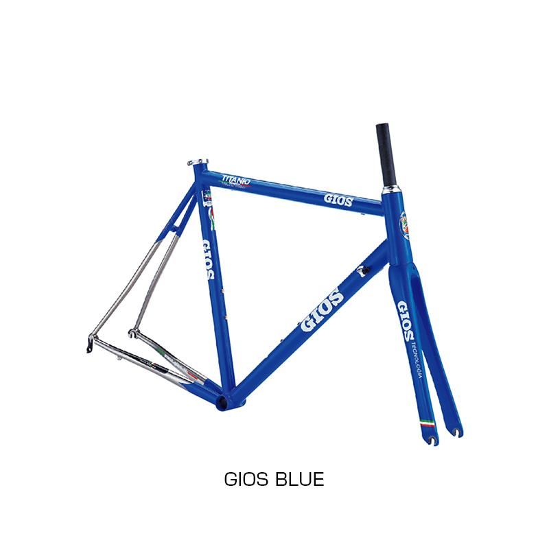 GIOS(ジオス) 2019年モデル TITANIO FRAMESET (チタニオフレームセット)[ロードバイク][フレーム・フォーク]