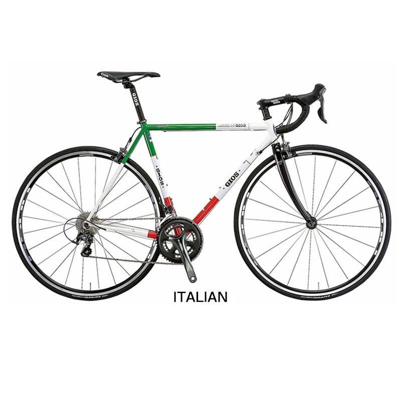 GIOS(ジオス) 2019年モデル VINTAGE (ヴィンテージ)ITALIAN TIAGRA ティアグラ[ホリゾンタル][スチールフレーム]
