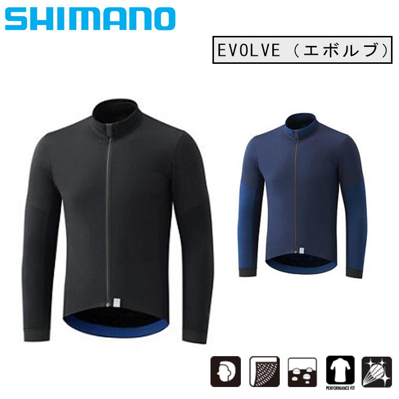 シマノ EVOLVE (エボルブ) ウインドジャケット SHIMANO 土日祝も営業 あす楽 送料無料  ウィンドブレーカー ロードバイク ウェア◆