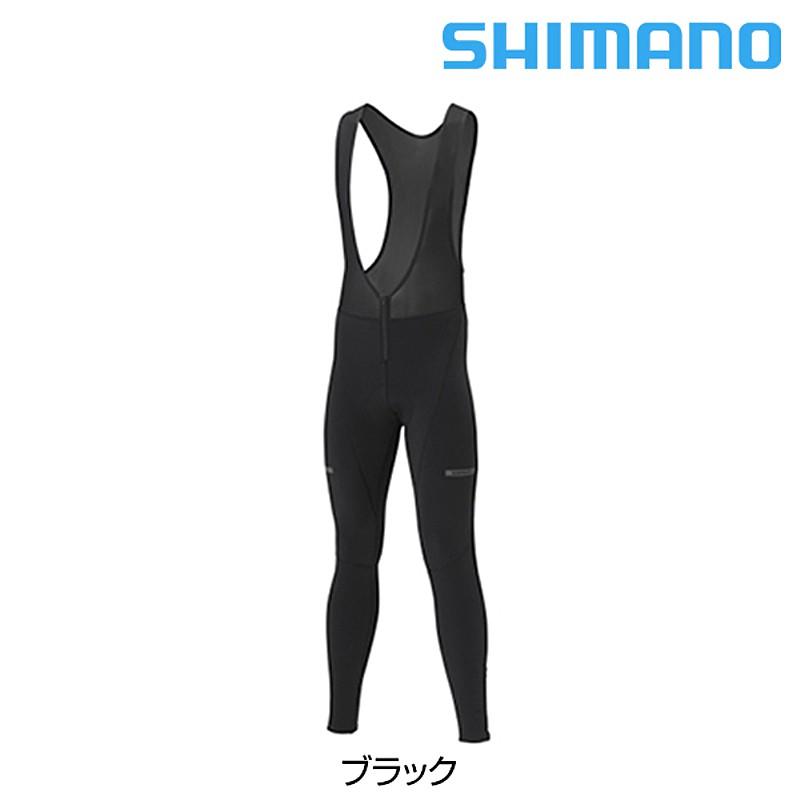 《即納》【あす楽】SHIMANO(シマノ) 2018年モデル ウインドビブタイツ[タイツ][ビブパンツ]