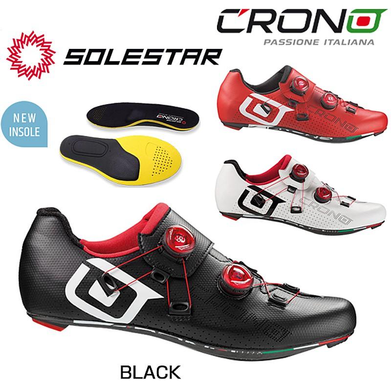 CRONO(クロノ) CR-1 SOLESTAR INSOLE (CR-1ソールスターインソール)SPD-SLビンディングシューズ[ロードバイク用][サイクルシューズ]