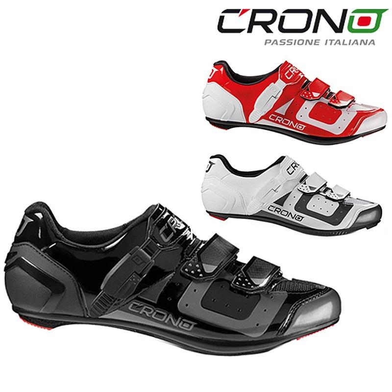 《即納》CRONO(クロノ) CR-3 CARBON (CR-3カーボン)SPD-SLビンディングシューズ[ロードバイク用][サイクルシューズ]
